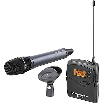 Sennheiser EW135-p G3 Camera Mount Wireless Microphone System with SKM100 G