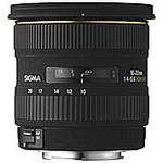 Sigma EX DC (HSM) 10-20mm f/4-5.6 Wide Angle Zoom Lens for Sigma - Black