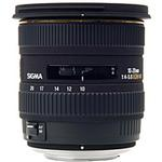 Sigma EX DC (HSM) 10-20mm f/4-5.6 Wide Angle Zoom Lens for Nikon - Black
