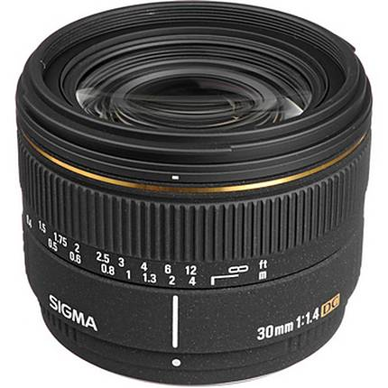 Sigma 30MM F1.4 EX DC HSM for Pentax