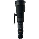Sigma EX DG APO HSM 300-800mm f/5.6 Telephoto Zoom Lens - Black