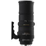 Sigma APO DG OS HSM 150-500mm f/5-6.3 Telephoto Zoom Lens for Canon - Black
