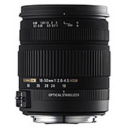 Sigma 18-50mm F2.8-4 OS HSM Lens for Canon