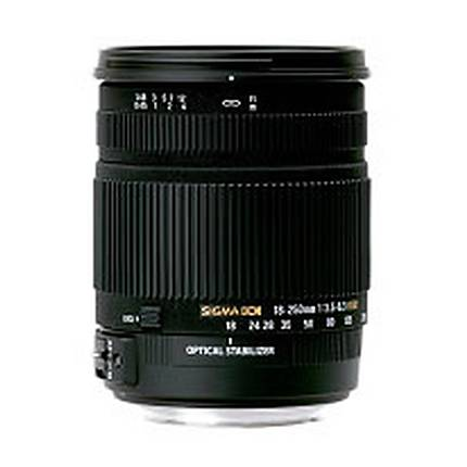 Sigma 18-250mm F3.5-6.3 HSM OS For Canon