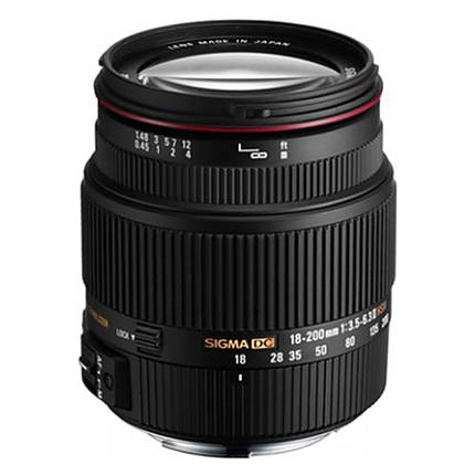 Sigma 18-200mm F 3.5-6.3 II OS HSM Lens For Canon