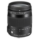 Sigma DC Macro OS HSM 18-200mm f/3.5-6.3 Telephoto Lens for Canon - Black
