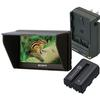 Sony CLMV55 5 In. Monitor Bundle W/ Battery  and  Charger