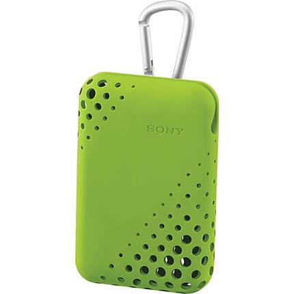 Sony Case for Cybershots - LCS-THU/G (Green)