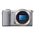 Sony Alpha a5000 20.1MP Camera-Silver with E PZ 16-50mm Zoom Lens-Black