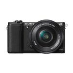 Sony Alpha a5100 24MP Mirrorless Camera with 16-50mm Lens-Black