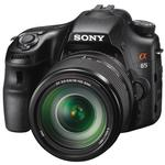 Sony a65 24.3 MP CMOS Digital Camera with 18-135mm and 18-250mm Lens-Black