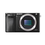 Sony Alpha a6000 24MP Mirrorless Camera Body-Black with 55-210mm Lens-Silver