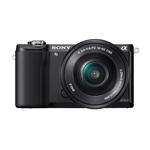 Sony Alpha a5000 20.1MP Camera with 16-50mm and 55-210mm Lenses-Black