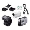 Sony AS200V/R Action Cam Bundle with RMLVR2 Live-View Remote
