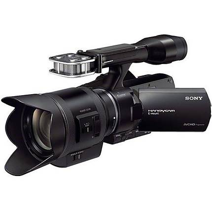 Sony NEX-VG30H Handycam Camcorder with 18-200mm Lens-Black