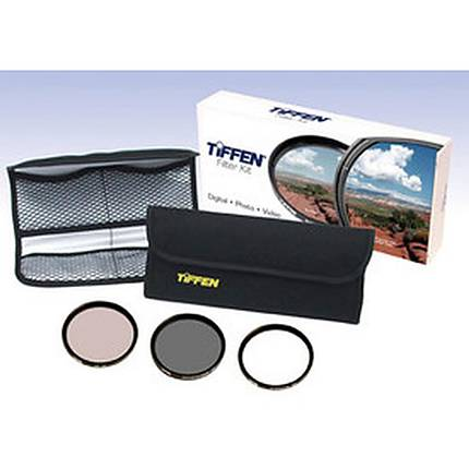 Tiffen 77MM Photo Essentials Filter Kit