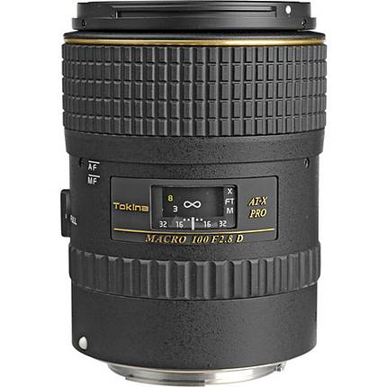 Tokina AF 100mm f/2.8 PRO D Macro Lens for Canon - Black
