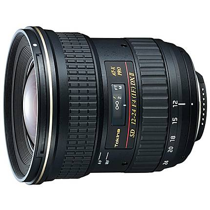 Tokina 12-24mm F4.0 Type II ATX For Canon EOS -- APS