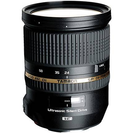 Tamron SP Di VC USD 24-70mm f/2.8 Standard Zoom Lens for Sony - Black