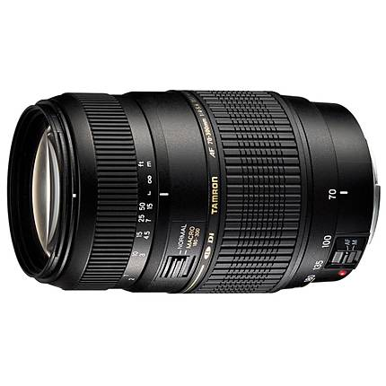 Tamron AF Di LD Macro 70-300mm f/4-5.6 Telephoto Zoom Lens for Canon - Black