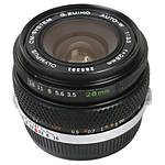 Used Olympus OM 28mm f/3.5 Auto-W [L] - Excellent