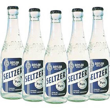 Boylan 12oz Seltzer Water Bottle