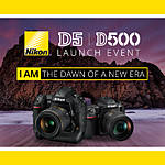 *FREE RSVP* Nikon D5  D500 Launch Event