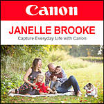 Capture Everyday Life with Canon and Janelle Brooke