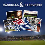 Photograph a Somerset Patriots Baseball Game and Fireworks