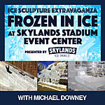 Ice Sculpture Extravaganza at Skylands Stadium