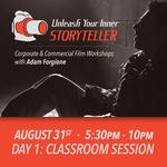 Unleash Your Inner Storyteller with Adam Forgione (Day 1)