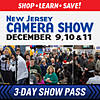 New Jersey Camera Show 3-Day Show Pass: December 9th, 10th, 11th