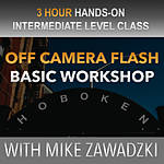 Off Camera Flash Basics in Hoboken with Mike Zawadzki