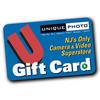 Unique Photo 50 Dollar Gift Card