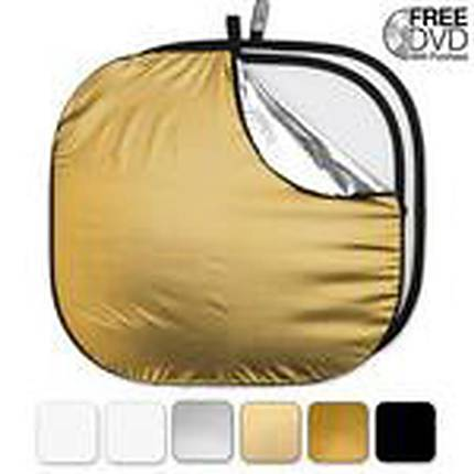 Westcott 52 Inch 6-In-1 Collapsible Reflector