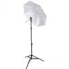Westcott 43 Inch Collapsible Umbrella  Kit With 8ft Stand And Stand Adapter