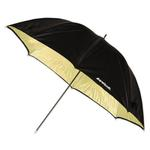 Westcott 45 Inch Gold  Umbrella WIth Black Backing