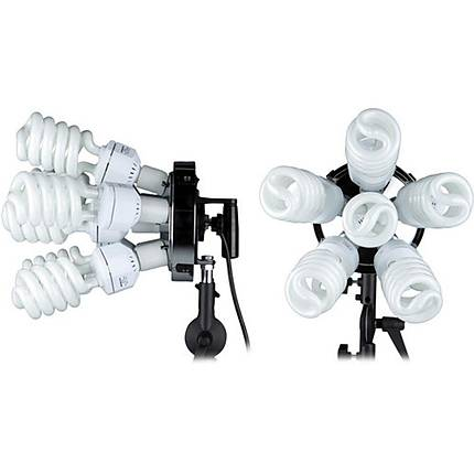 Westcott SpiderLite TD6 1200Watt ( 2 Pack) Light  Kit With Tilter Brackets