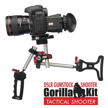 Zacuto DSLR Tactical Shooter Gorilla Kit Gunstock Shooter