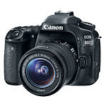 Canon EOS 80D Digital SLR Camera with 18-55mm STM Lens