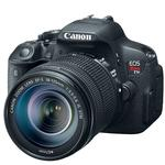Canon EOS Rebel T5i 18 MP CMOS Camera with 18-135mm and 75-300mm Lens-Black