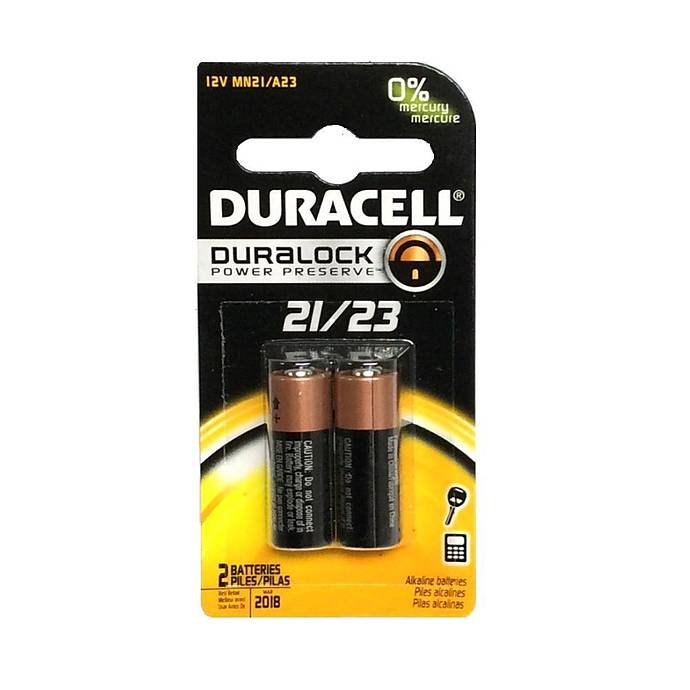 Duracell Mn21 A23 2 Pack Lithium Batteries Sold As 2