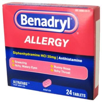 Benadryl 24ct Allergy