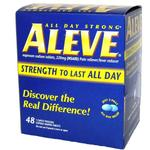 Aleve 1pk Tablets (Box of 48 1pks)
