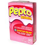 Pepto Bismol Tablets 30ct Original Chewable