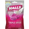 Halls Cough Drops Sugar-Free Cherry Bag of 25