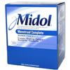 Midol 2pk Caplets (Box of 25 2pks) Only July 2015 Expiration