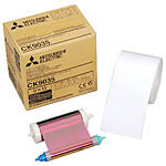 Mitsubishi 3.5 x 5 In. Paper Roll  and  Inksheet