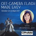 Off-Camera Flash Made Easy with Vanessa Joy (Profoto)